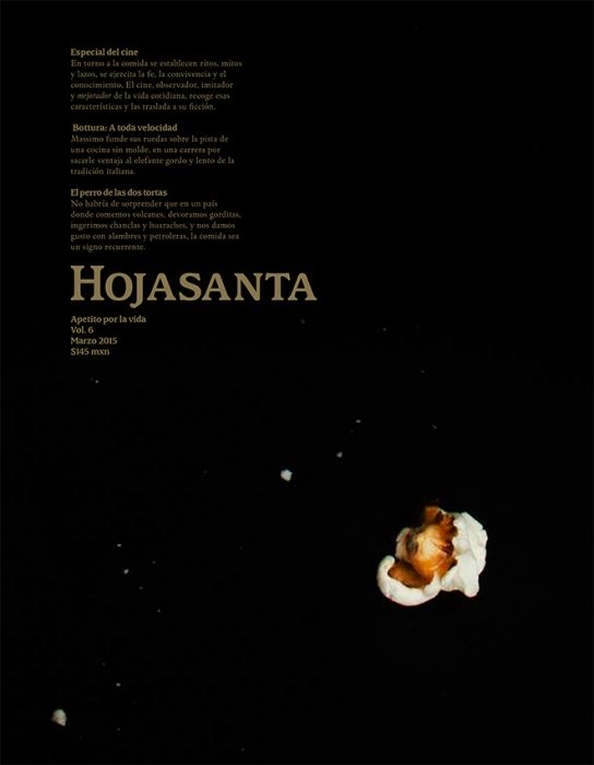 Cover Hojasanta, vol 6.